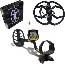 """Металотърсач Fisher Gold Bug DP ULTRA с 11"""" Fisher и 13"""" Karma сонди + Подаръци + Безплатна доставка"""