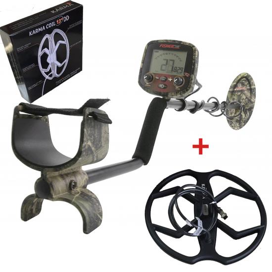 Металотърсач Fisher F19 LTD + 2 Сонди + Безплатна доставка + 5 подаръка промоционален комплект
