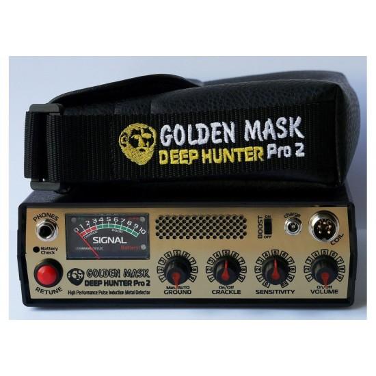 Металотърсач Golden Mask Deep Hunter Pro 2 + Безплатна доставка + 5 подаръка на най-ниска цена