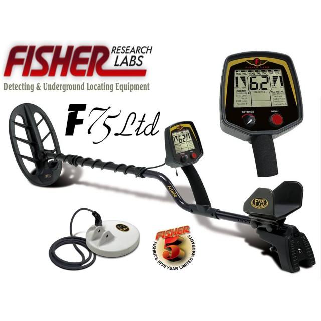 Металотърсач Fisher F75 Ltd