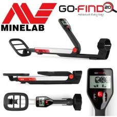 Металотърсач Minelab GO-FIND 20 + Безплатна доствка + 5 подаръка на най-ниска цена
