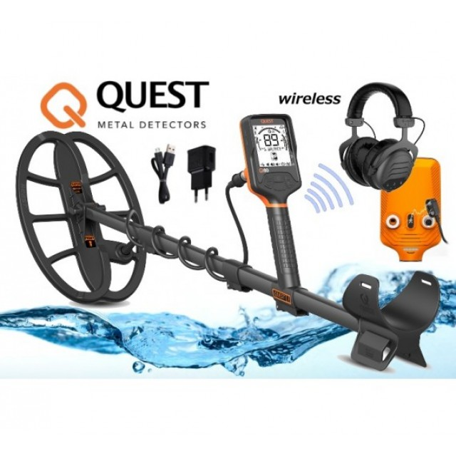 Металотърсач Quest Q60 + Quest Xpointer