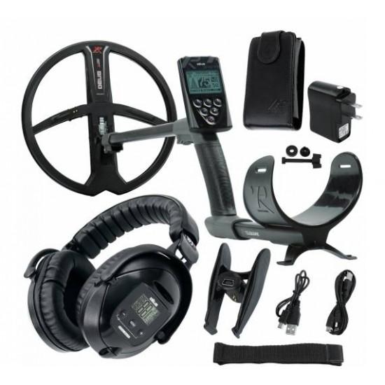 Металотърсач XP DEUS v. 5, безжични слушалки WS5, RC (дистанционно устройство), сонда X35 22 см + Безплатна доставка + 5 подаръка + Най-добра цена