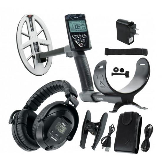 Металотърсач XP DEUS v.5, безжични слушалки WS5, RC (дистанционно устройство), сонда HF DD 22,5 см + Безплатна доставка + 5 подаръка + Най-добра цена