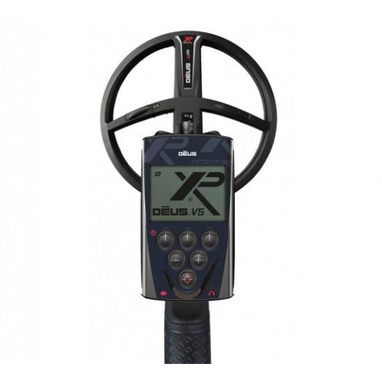 Металотърсач XP DEUS v.5, RC (дистанционно устройство), сонда X35 (28 см) + Безплатна доставка + 5 подаръка + Най-добра цена