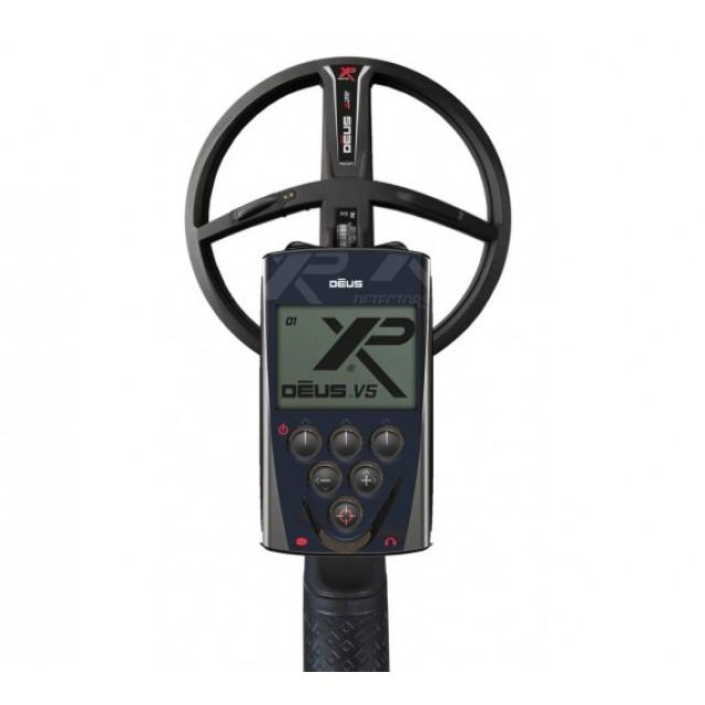 Металотърсач XP DEUS v.5, RC (дистанционно устройство), сонда X35 (28 см)