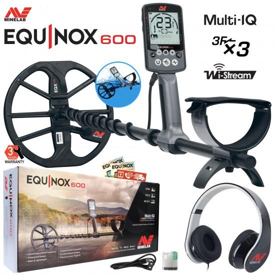 Металотърсач Minelab EQUINOX 600 + Безплатна доставка + 5 подаръка + Най-ниска цена