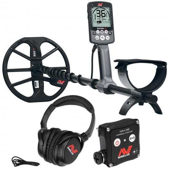 Металотърсач Minelab EQUINOX 800 + Безплатна доставка + 5 подаръка + Най-ниска цена