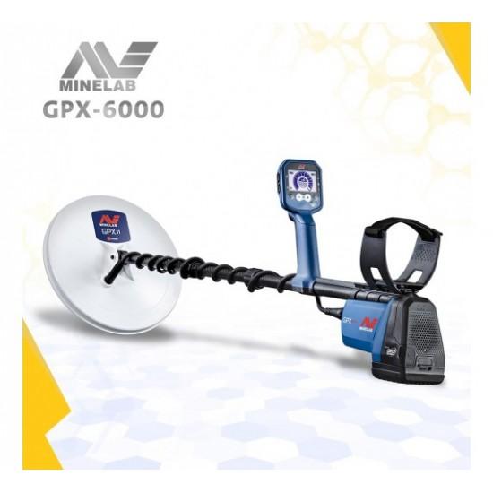 Металотърсач Minelab GPX 6000 + Безплатна доставка + 5 подаръка + Най-ниска цена