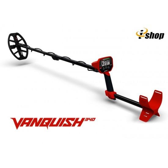 Металотърсач Minelab VANQUISH 340 + Безплатна доставка + 5 подаръка + Най-ниска цена