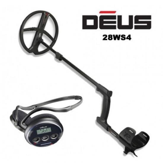 Металотърсач XP DEUS v.5 (със слушалки WS4) втора употреба + Безплатна доставка