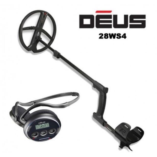 Металотърсач XP DEUS v.5 (със слушалки WS4) втора употреба