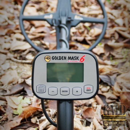 Металотърсач Golden Mask 6 + Безплатна доставка + 5 подаръка + Най-ниска цена