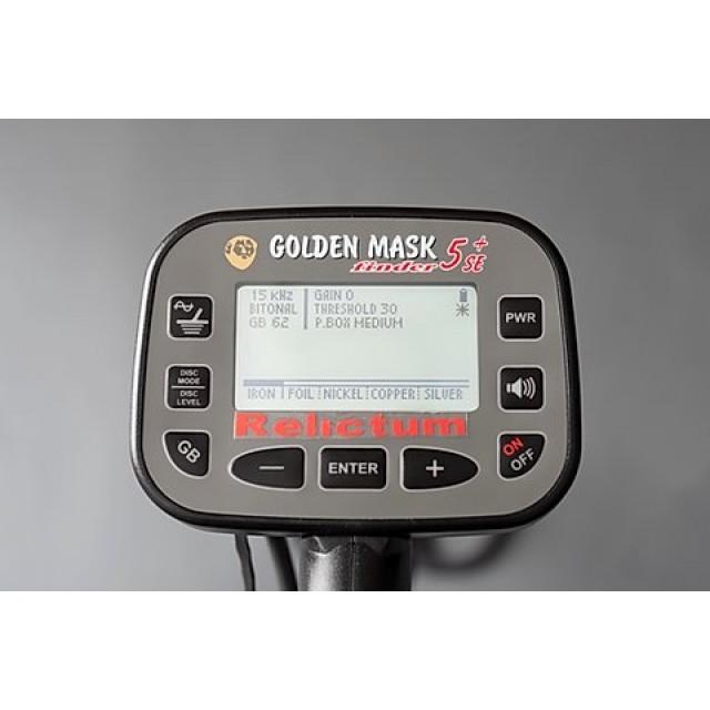 Металотърсач Golden Mask 5+ SE Relictum (5 kHz и 15 kHz)