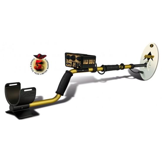 """Металотърсач Fisher Gold Bug 2 COMBO с 6.5"""" и 10"""" DD сонда + Подаръци + Безплатна доставка"""