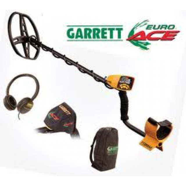 "Металотърсач Garrett EURO ACE + Ultimate 13""  Сонда"