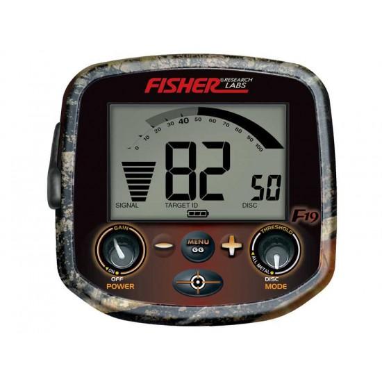 Металотърсач Fisher F19 LTD + Безплатна доставка + 5 подаръка на най-ниска цена