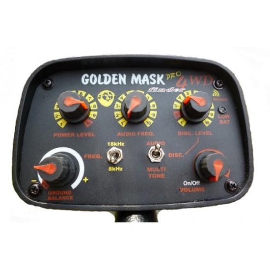 Металотърсач Golden Mask 4WD Spider pro PACK + 3 антени + Безплатна доставка + 5 подаръка + Най-ниска цена