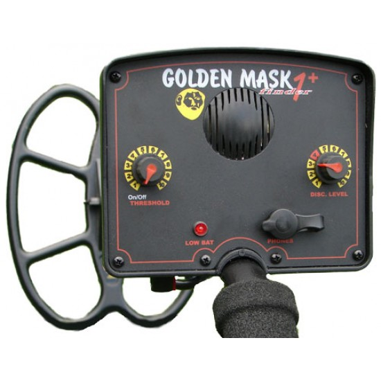 Металотърсач Golden Mask 1+ (Plus) + Безплатна доставка + 5 подаръка + Най-ниска цена