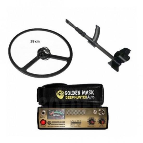 Металотърсач Golden Mask Deep Hunter Pro 3 + 58 см сонда + Безплатна доставка + 5 подаръка + Най-ниска цена