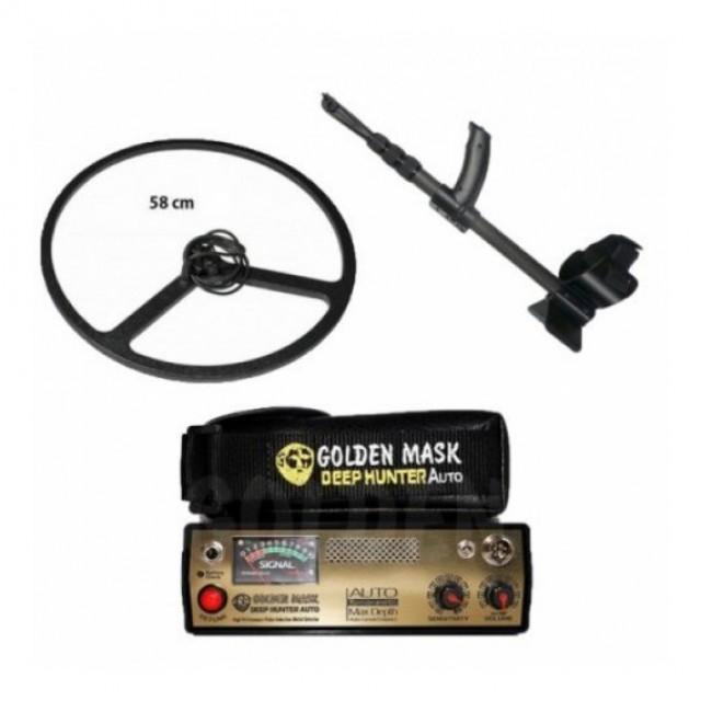 Металотърсач Golden Mask Deep Hunter Pro 3 + 58 см сонда