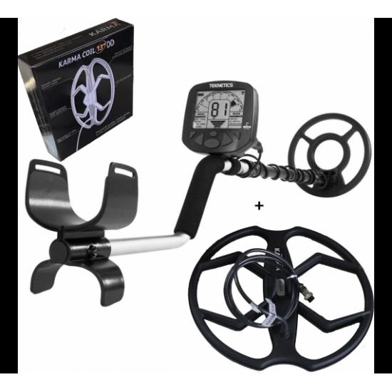 Металотърсач Teknetics Gamma 6000 + 2 Сонди + Безплатна доставка + 5 подаръка на най-ниска цена