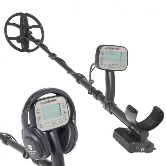 Металотърсач Golden Mask 5+ SE Platinum (15 kHz и 30 kHz) + Безплатна доставка + 5 подаръка + Най-ниска цена