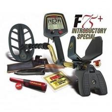 Металотърсач Fisher F75+ (втора употреба) + Безплатна доставка