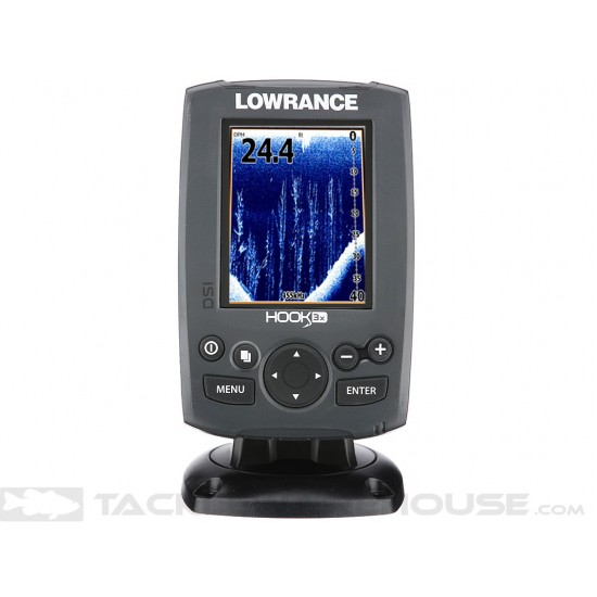 Lowrance Hook-3x DSI DownScan със 455/800 сонда