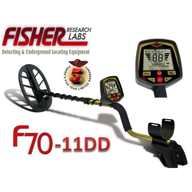 Металотърсач Fisher F70  11DD