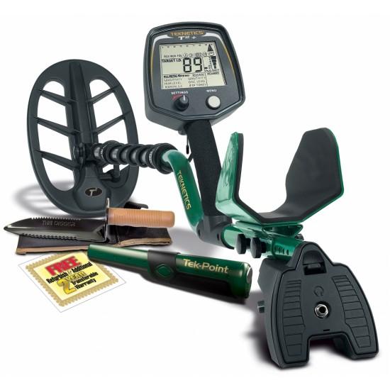 Металотърсач Teknetics T2 + (T2 Плюс) + Безплатна доставка + 5 подаръка + Най-ниска цена